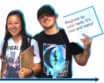 Image: PA Organizers Register Students to Vote